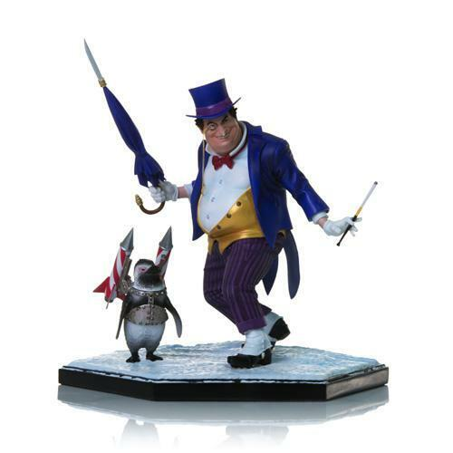 Penguin Art Scale 1 1 1 10 - by Ivan Reis (REGULAR VERSION)  Iron Studios Sideshow 0f0efe