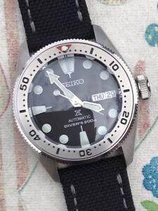 Seiko SKX013 Custom Build NH36A Lots Spent Mod Watch