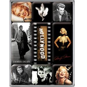 Lot-de-9-mini-magnets-Hollywood