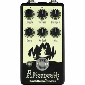 Earthquaker Devices Afterneath V2 Reverb Pédale-afficher Le Titre D'origine