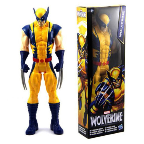 Kids X-Men Wolverine Marvel Titan Hero Series Action Figure Avenger Toy Figurine