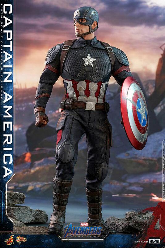 Hot Juguetes Movie Masterpiece Capitán América (Avengers juego de extremo) versión de Japón