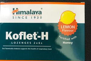2-x6-Koflet-H-Pastilles-Citron-Avec-Miel-Sec-Irritant-Mal-de-Gorge