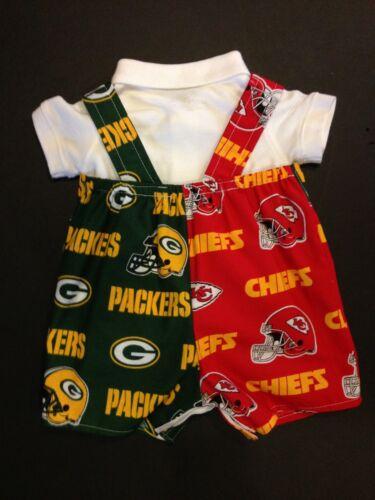 MLB NBA NFL NHL Split Divided Household Baby Infant Toddler Boys Jumper Overalls