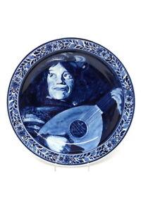 Delft Keramik Wandteller Frans Hals Ø 31 cm
