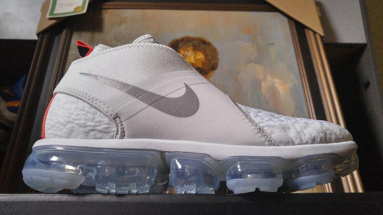 Nike Air Vapormax Chukka Slip size 10 Pure Platinum Silver White AO9326 001