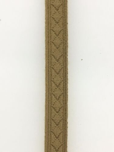 German Army WWII Afrika Korps woven uniform rank collar lace or tresse 1 metre