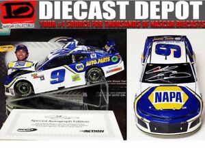 CHASE ELLIOTT #9 2018 NAPA TEST CAR ELITE 1//24 SCALE NEW IN STOCK FREE SHIPPING
