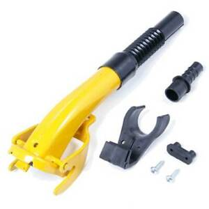 Yellow Flexible Pouring Spout - Non Spill suits Wavian / Other Steel Jerry Cans