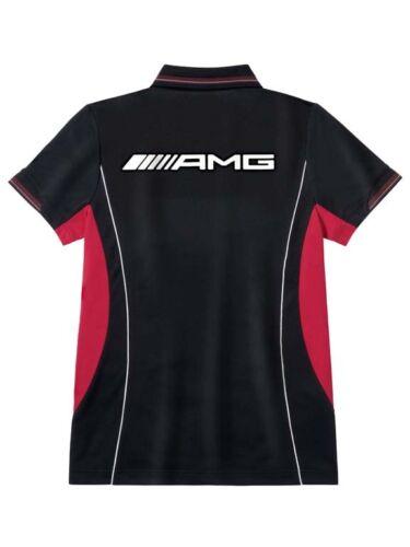 Corte shirt Originale T Mercedes Rosso Maniche A Polo Nero Maglietta Amg Uomo z7Zzgw