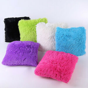 Shaggy-Faux-Fur-Cushion-Cover-with-Insert-Soft-Plush-Lovely-Throw-Pillows-Cases