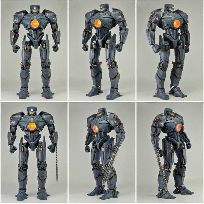 1/4 Scale Neca JAEGER GIPSY DANGER Pacific Rim 18