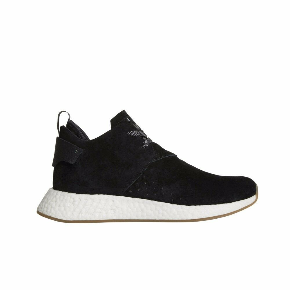 Adidas NMD_C2 Boost City Sock Men's Chukka Suede (Core Black/Gum) Men's Sock Shoes BY3011 3212f2