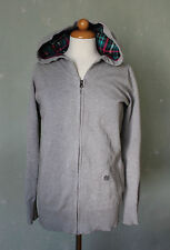 Element Hoodie Strickjacke Sweatshirtjacke grau Strick leicht Gr. M 38 (S24)*