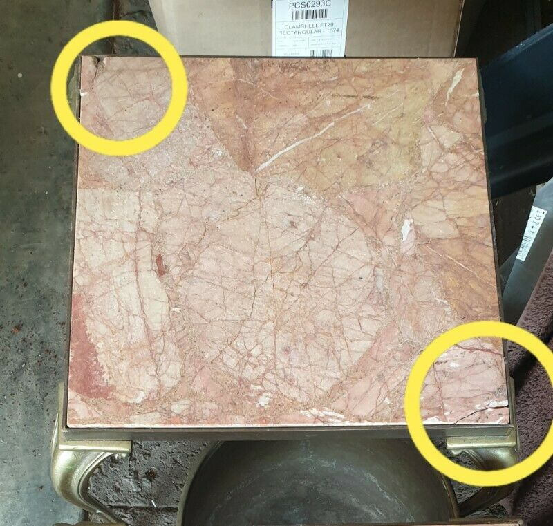 Italian Marble coffee table and 2 side tables REDUCED R900