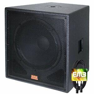 New-EMB-Professional-EBP12Sub-Bass-Gig-12-034-1200-Watt-Active-Powered-PA-Subwoofer