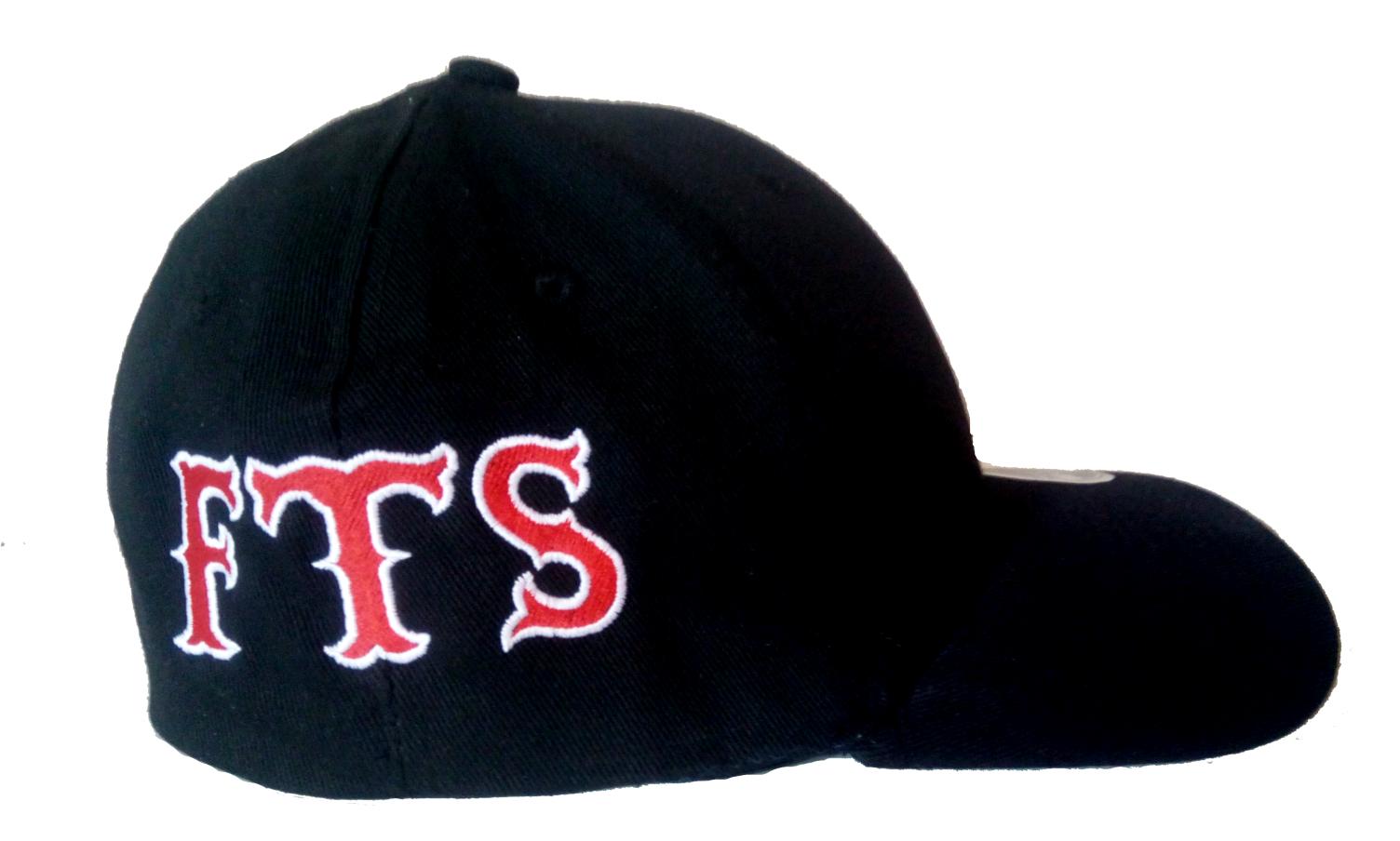 Flexcore CAP Schwarz FTS bestickt Original 81 Support Biker Cap