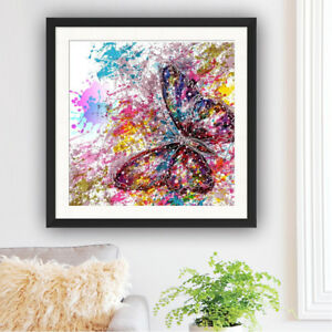 5D Full Butterfly DIY Diamond Painting Embroidery Needlework Home Decor Gift Art