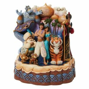 Disney Traditions Aladdin 'A Wondrous Place' Carved by Heart Collectable Figure