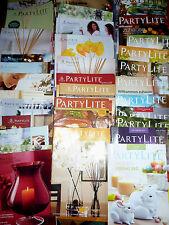 PartyLite Katalog Auswahl 2004 -05 06  07 08 09 10 11 12 13 14 15 16 bis 2017