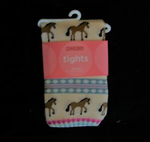 Gymboree PARK CITY LUXE FairIsle Pony Horse or Floral Tights NWT 3 4 5 7 8 9 10