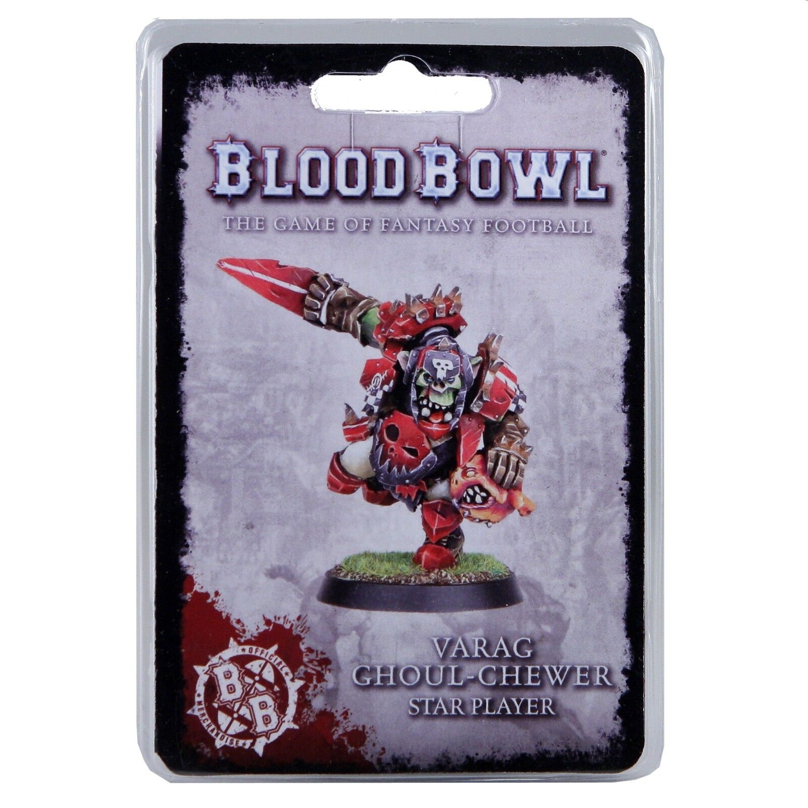Blood Bowl Orc Star Player Varag Ghoul Chewer Fantasy Football