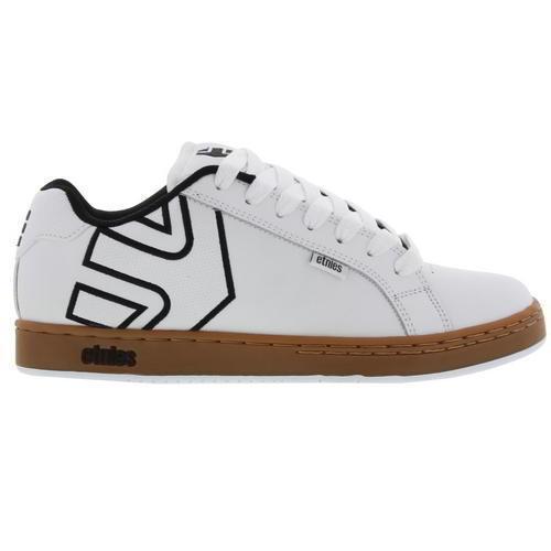 Etnies fader - fader Etnies uomini bianchi e neri con le scarpe di formatori dimensioni ea0484