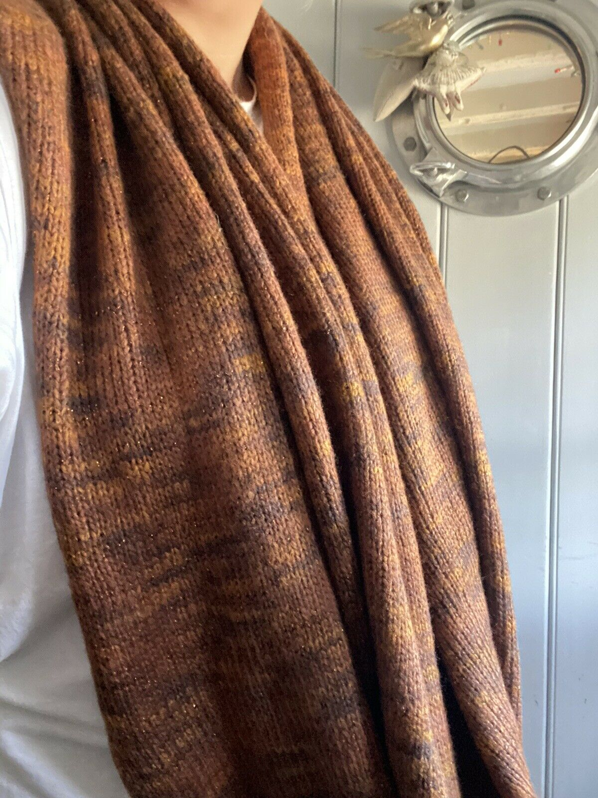 womens snood scarf