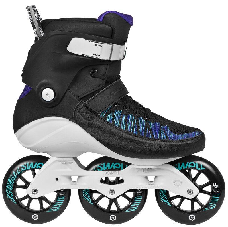 Powerslide Swell 110 Trinity 110 Swell Voltage Blau Fitness Inline Skates NEU 1bbacc