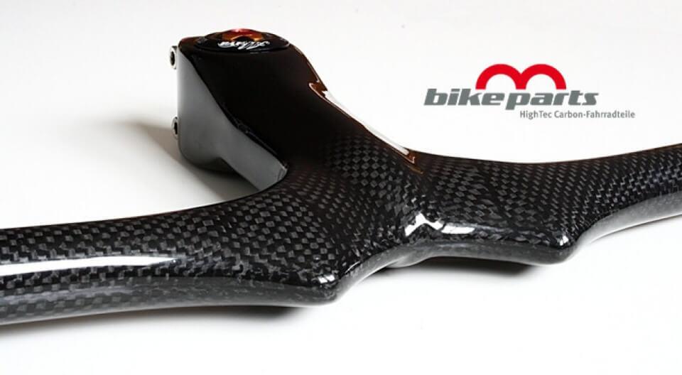 Bicicleta de montaña voladizo manillar, - MTV carbon 600 x 090 mm 269g.