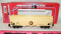 American Flyer NIB 6-48611 Cargill 3-bay covered hopper