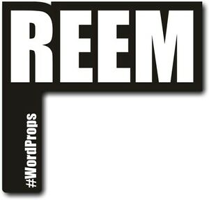 #WordProps - REEM