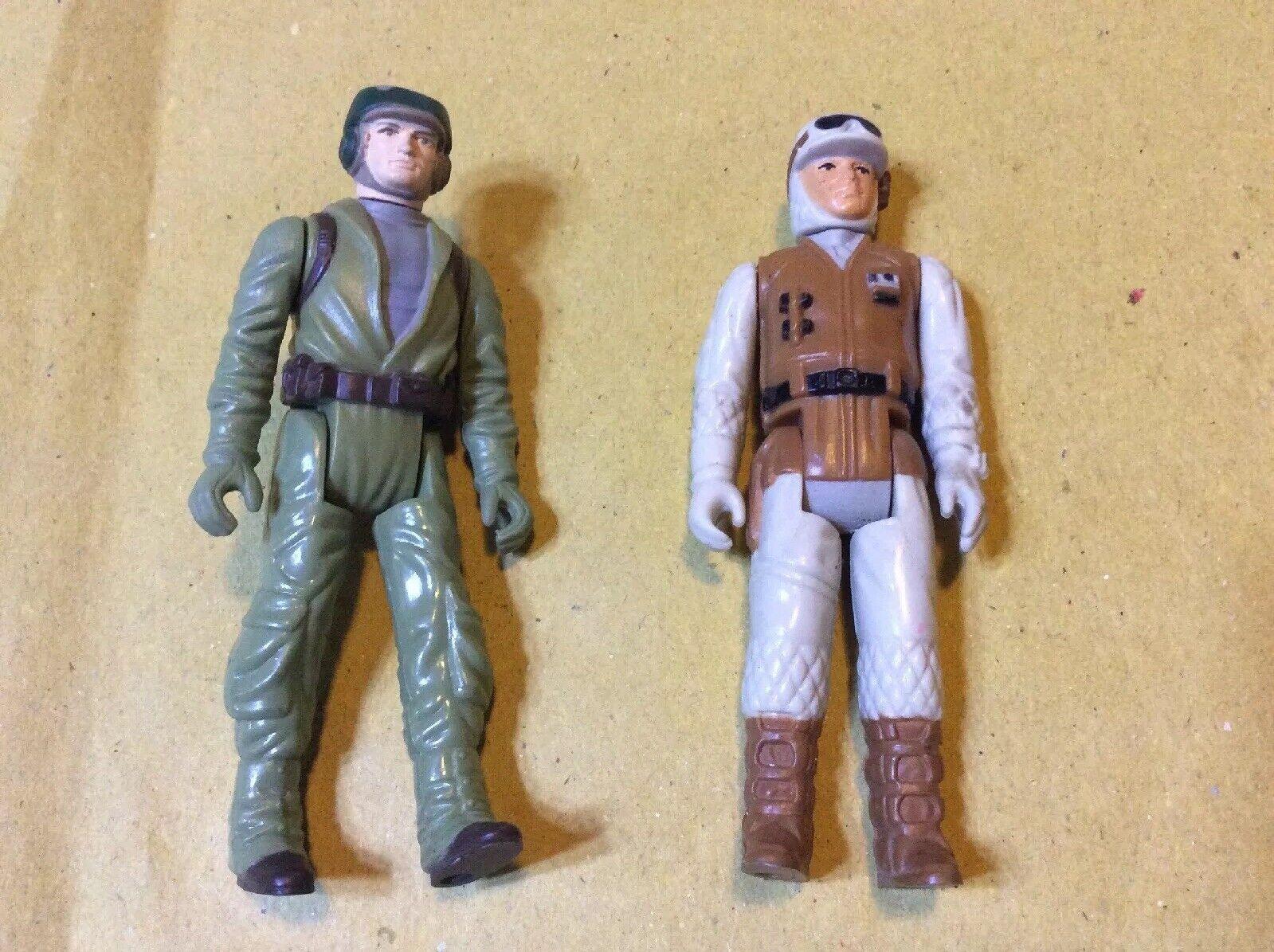 Lotto Star Wars 1983 1980 Commando Soldato Ribelle Vintage Action Figure