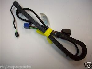 s l300 2008 2009 dodge caravan drivers left side sliding door wiring track