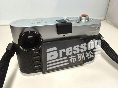 BRESSON Myopia J Visor Lupa 1.0-1.5x para Leica M10//M10-P Cuerpo De Cámara