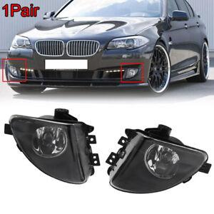 1-PAIR-Front-Fog-Light-Lamps-LH-RH-For-BMW-5-Series-F10-535i-550i-528i-2011-2013