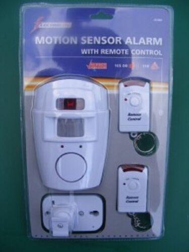 Wireless Burglar PIR Alarme Intrus Capteur De Mouvement Box
