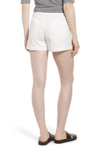 Sz Nwot donna da Bianco taschino 145 patch Nordstrom 12 Signature Stretch Pantaloncini f8atxvf