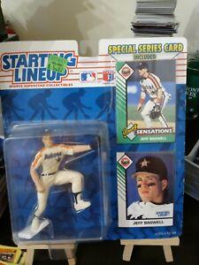 1993 ROOKIE STARTING LINEUP - HOF - MLB - JEFF BAGWELL -  ASTROS