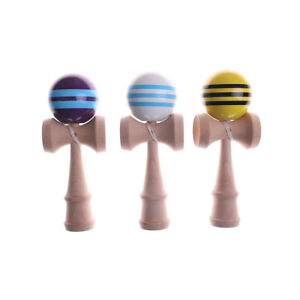 6CM-Striped-Kendama-With-3-Strings-Colorful-Painted-Traditional-Wooden-To-AU