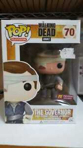 Funko-Pop-The-Walking-Dead-The-Governor-Bandage-PX-Previews-w-pop-protector
