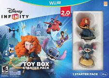 **BRAND NEW** Disney Infinity 2.0 Edition Toy Box Starter Pack, Wii U