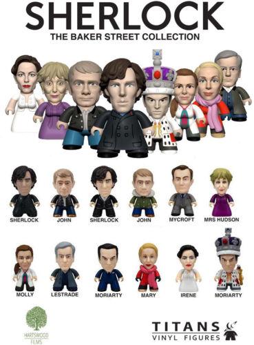 Titans Vinyl Sherlock Mini Figures Baker Street Collection TV Show YOU CHOOSE