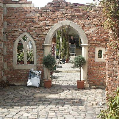285 Ziegelsteine Backsteine Kräuterspirale Hochbeet Outdoorküche Ruinenmauer Unterscheidungskraft FüR Seine Traditionellen Eigenschaften