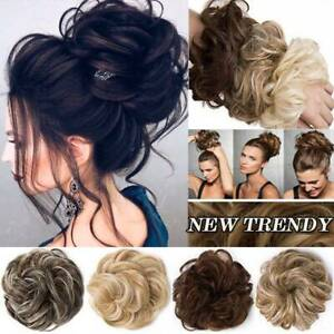 Miraculous Large Natural Updo Curly Messy Bun Hair Piece Scrunchie As Human Schematic Wiring Diagrams Amerangerunnerswayorg