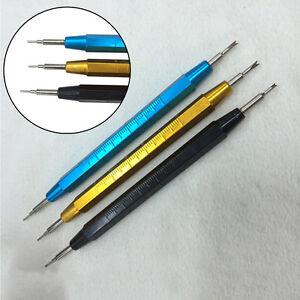 Cinturino-Orologio-Band-Pin-collegamento-primavera-Bar-Remover-orologiaio-rimozione-repair-tool-UK
