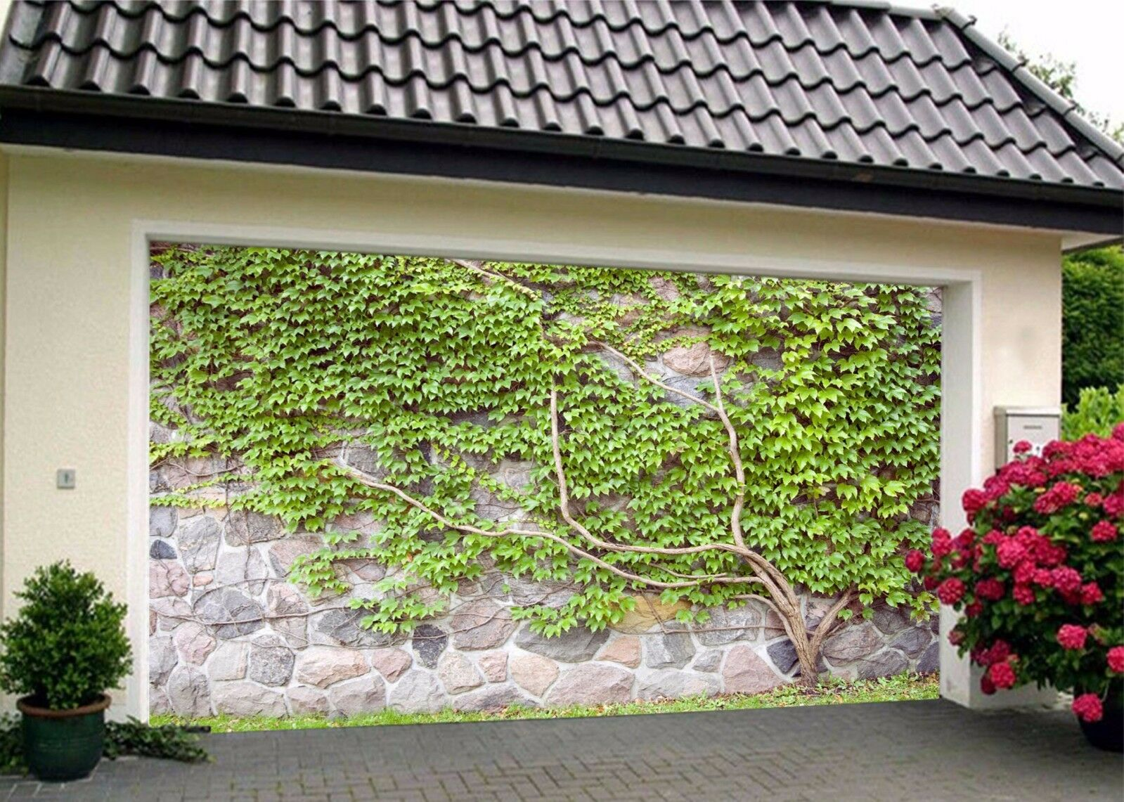 3D Many Leaves 33 Garage Door Murals Wall Print Decal Wall Deco AJ WALLPAPER UK