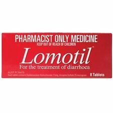 ツ BEST PRICE! LOMOTIL 2.5MG FOR TREATMENT OF DIARRHOEA 8 TABLETS DISCOUNT