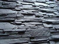 Klinker, Verblender, Riemchen, Wandverkleidung Innen & Außen  Felsen in Grau