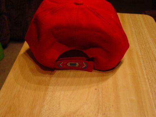 rouge Indian Bear Native Casquette de baseball